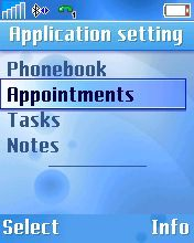 Choose Appointments