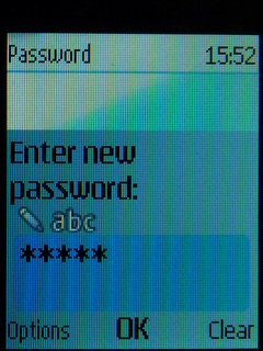 Type your password into the password field
