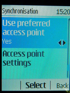 Choose Access Point
