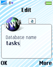Type in Tasks