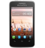Alcatel One Touch 7025 Snap Black
